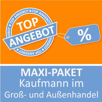 Maxi-Paket Kaufmann im Groß- und Außenhandel - Lernkarten