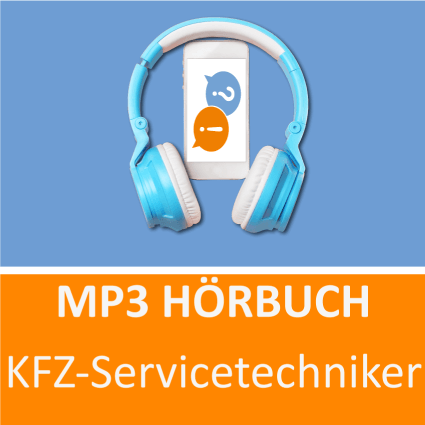 MP3 Hörbuch KFZ-Servicetechniker - Download