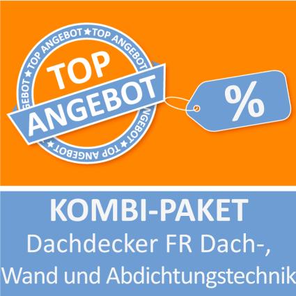 Kombi-Paket Dachdecker FR Dach-, Wand und Abdichtungstechnik - Lernkarten