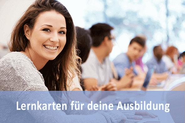 Lernkarten Kaufmann für Büromanagement für die Prüfungsvorbereitung
