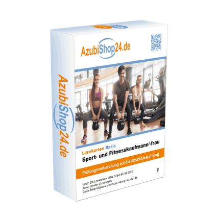 Sport- und Fitnesskaufmann Lernkarten