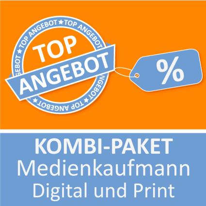 Kombi-Paket Medienkaufmann Digital und Print - Lernkarten