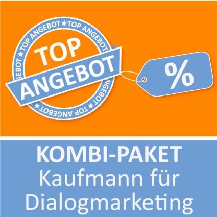 Kombi-Paket Kaufmann für Dialogmarketing - Lernkarten