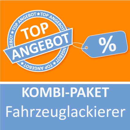 Kombi-Paket Fahrzeuglackierer - Lernkarten