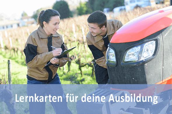 Lernkarten Mechaniker Land- und Baumaschinentechnik