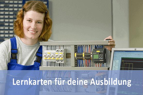 Lernkarten Elektroniker für Automatisierungstechnik für die Prüfungsvorbereitung