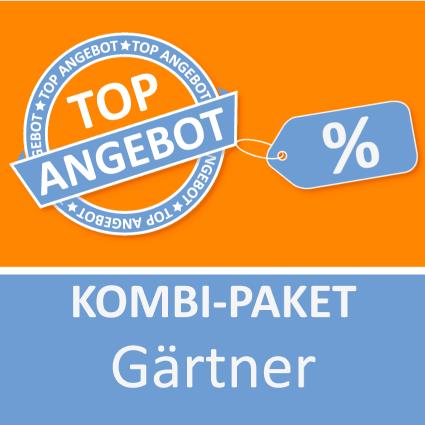 Kombi-Paket Gärtner - Lernkarten