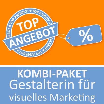 Kombi-Paket Gestalter für visuelles Marketing - Lernkarten