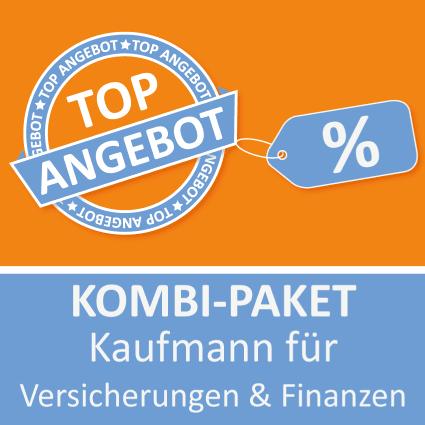 Kombi-Paket Kaufmann für Versicherungen und Finanzen - Lernkarten