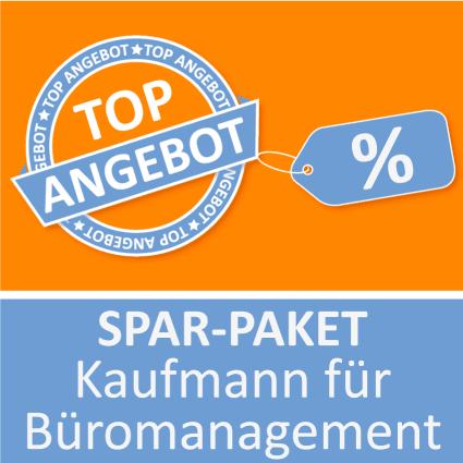 Spar-Paket Kaufmann für Büromanagement - Lernkarten