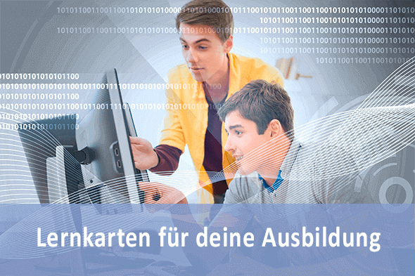 Lernkarten Technischer Assistent für Informatik für deine Prüfungsvorbereitung