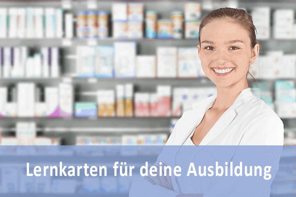 Lernkarten Pharmazeutischer Angestellter PKA für die Prüfungsvorbereitung