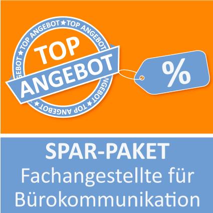 Spar-Paket Fachangestellte für Bürokommunikation - Lernkarten