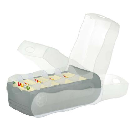 Karteibox Croco für Lernkarten