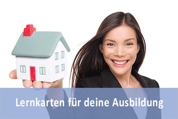 Lernkarten Immobilienkaufmann für die Prüfungsvorbereitung