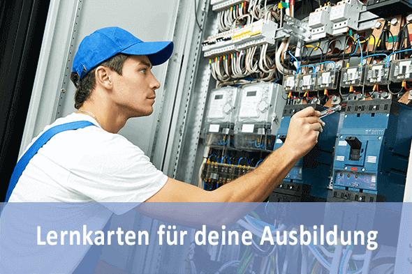 Lernkarten Elektroniker FR Energie- und Gebäudetechnik für die Prüfungsvorbereitung