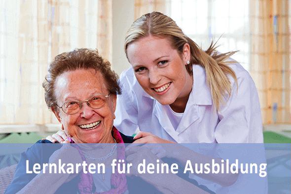 Lernkarten Altenpflegehelfer für die Prüfungsvorbereitung