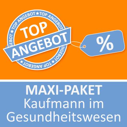 Maxi-Paket Kaufmann im Gesundheitswesen - Lernkarten