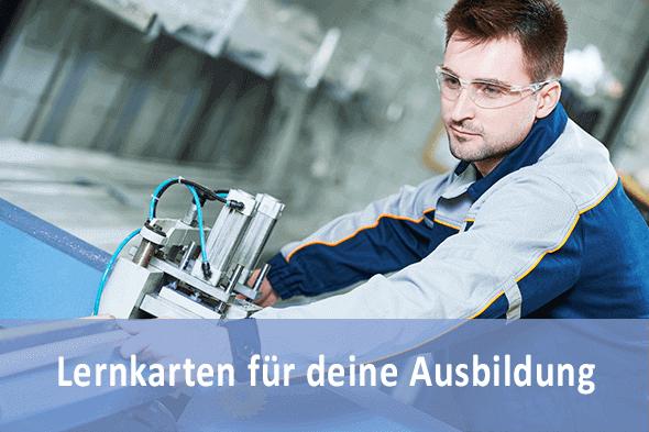 Lernkarten Verfahrensmechaniker für Kunststoff und Kautschuktechnik für die Prüfungsvorbereitung