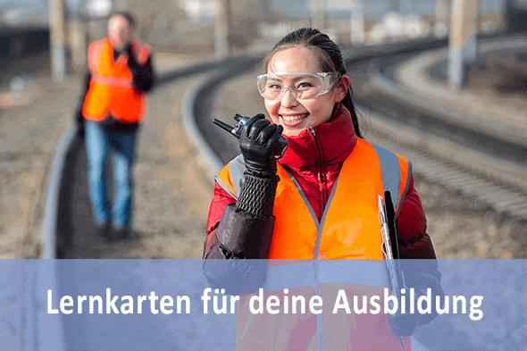 Lernkarten Eisenbahner im Betriebsdienst für die Prüfungsvorbereitung