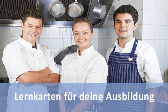 Lernkarten Fachpraktiker Küche für die Prüfungsvorbereitung