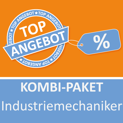 Kombi-Paket Industriemechaniker - Lernkarten