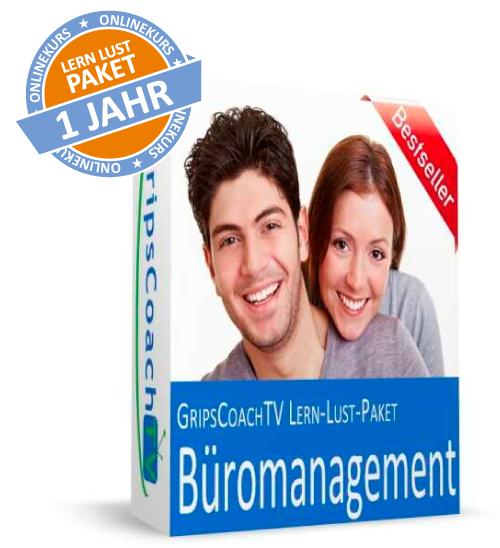 Büromanagement Lern Lust Paket für 1 Jahr