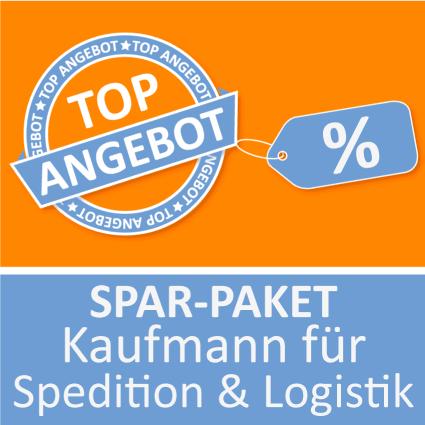 Spar-Paket Kaufmann für Spedition und Logistik - Lernkarten
