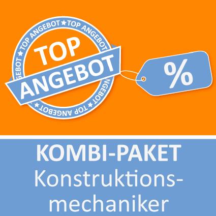 Kombi-Paket Konstruktionsmechaniker - Lernkarten