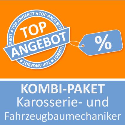 Kombi-Paket Karosserie- und Fahrzeugbaumechaniker - Lernkarten