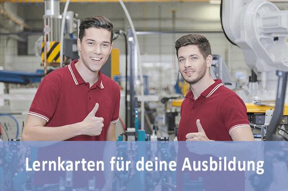 Lernkarten Industriemechaniker für die Prüfungsvorbereitung