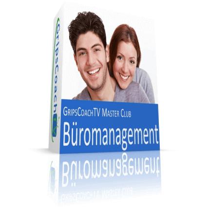 GripsCoachTV Lern-Lust-Paket Kaufmann für Büromanagement 12-Wochen-Paket