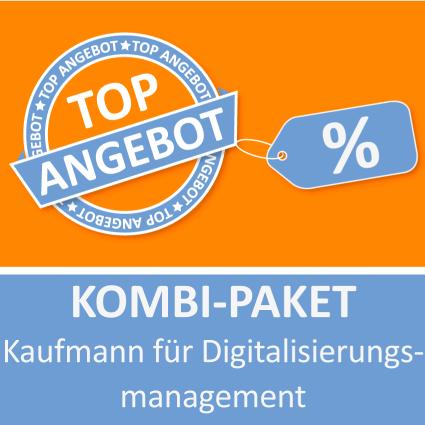 Kombi-Paket Kaufmann für Digitalisierungsmanagement - Lernkarten