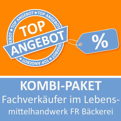 Kombi-Paket Fachverkäufer im Lebensmittelhandwerk FR Bäckerei - Lernkarten