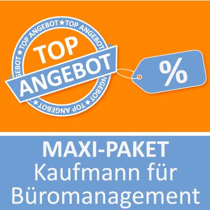 Maxi-Paket Kaufmann für Büromanagement - Lernkarten