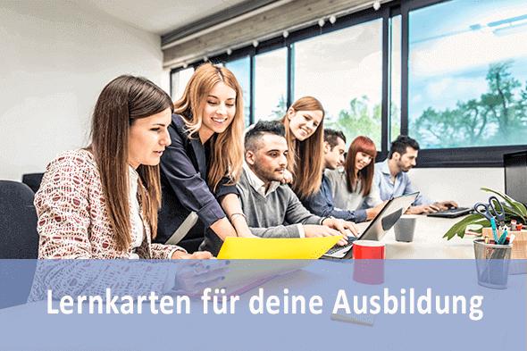 Lernkarten Kaufmann für Marketingkommunikation für die Prüfungsvorbereitung