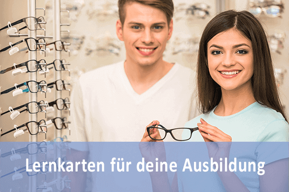 Lernkarten Augenoptiker für die Prüfungsvorbereitung