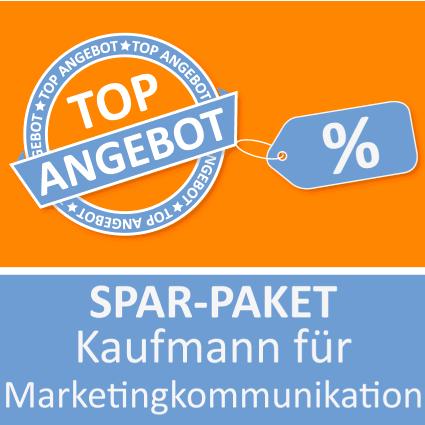 Spar-Paket Kaufmann für Marketingkommunikation - Lernkarten