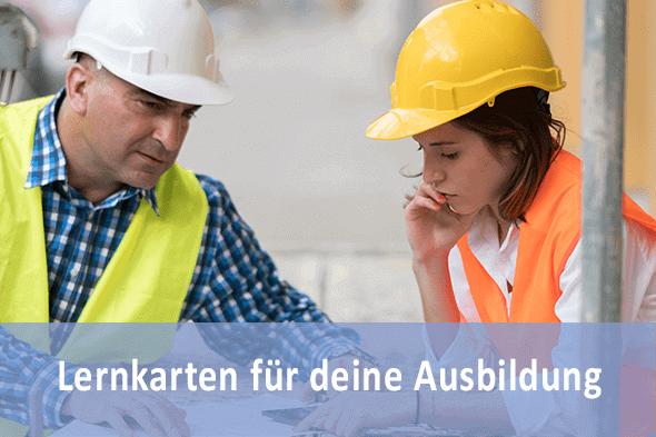Lernkarten Hochbaufacharbeiter