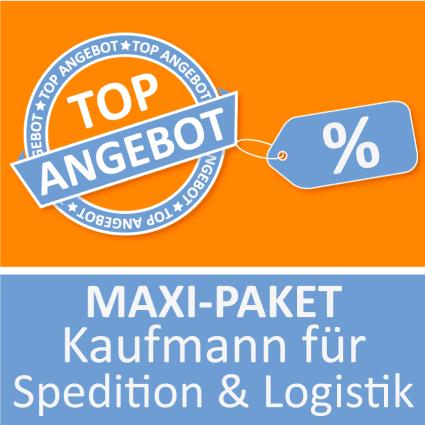 Maxi-Paket Kaufmann für Spedition und Logistik - Lernkarten