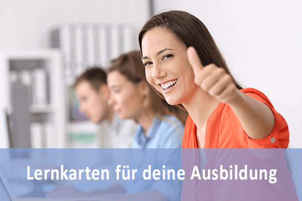 Lernkarten Kaufmann für Versicherungen und Finanzen für die Prüfungsvorbereitung
