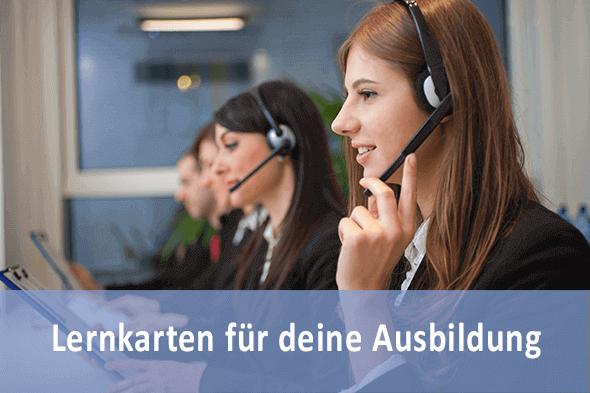 Lernkarten Kauffrau Dialogmarketing
