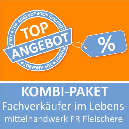 Kombi-Paket Fachverkäufer im Lebensmittelhandwerk FR Fleischerei - Lernkarten