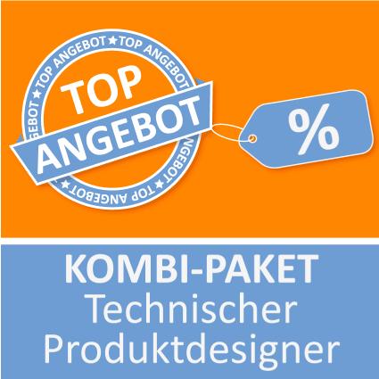 Kombi-Paket Technischer Produktdesigner - Lernkarten