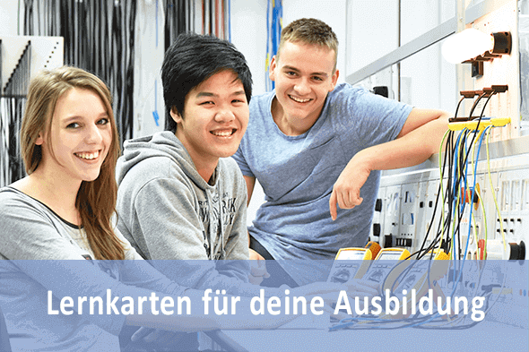 Lernkarten Elektroniker für Betriebstechnik für die Prüfungsvorbereitung