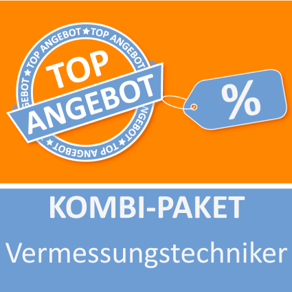 Kombi-Paket Vermessungstechniker - Lernkarten