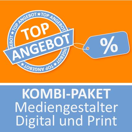 Kombi-Paket Mediengestalter Digital und Print - Lernkarten