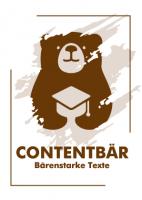 Contentbär - Poster Braun
